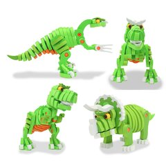 3D Soft stacking puzzle Dino